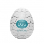Tenga Easy Beat Egg Wavy II Яйцо-мастурбатор, 6х5 см